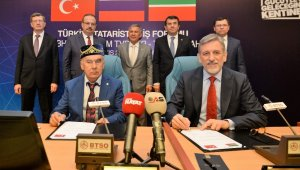 BTSO'dan Türkiye-Tataristan İş Forumu - Bursa Haberleri