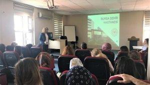 Bursa Şehir Hastanesi idarî çalışanlarına oryantasyon eğitimi - Bursa Haberleri