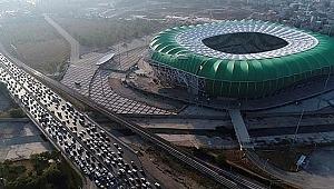 Bursa trafiğine 19 Mayıs ve maç ayarı - Bursa Haberleri