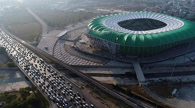 Bursa trafiğine maç ayarı - Bursa Haberleri
