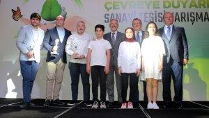 Çevreye duyarlı sanayi tesisleri ödüllendirildi - Bursa Haberleri