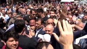 CHP'nin İstanbul adayı Ekrem İmamoğlu, cami çıkışı yuhalandı