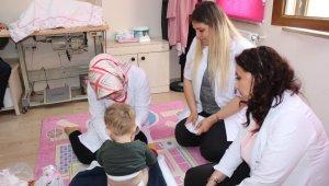 Çocuk evlerine sağlık ziyareti - Bursa Haberleri