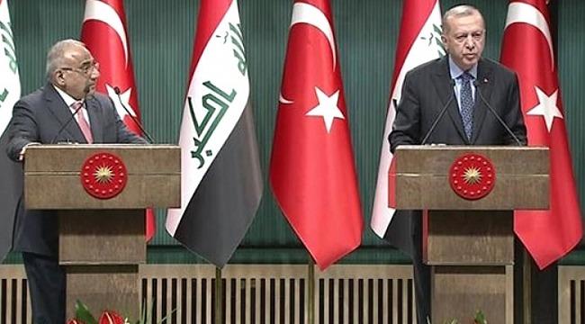 Cumhurbaşkanı Erdoğan'dan Türkiye ve Irak Arasında Askeri iş Birliği Açıklaması