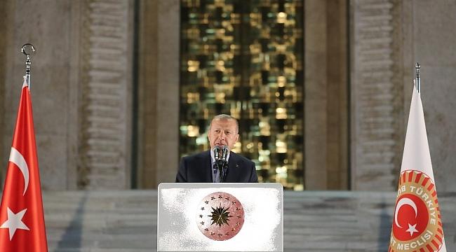 """Cumhurbaşkanı Erdoğan: """"Gelin büyük ve güçlü Türkiye'yi birlikte inşa edelim"""""""