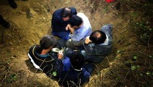 Define avcısı polise yakalandı, Ölü taklidi yaparak kurtulmaya çalıştı - Bursa Haberleri