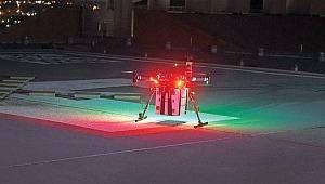 'Drone'la organ nakli