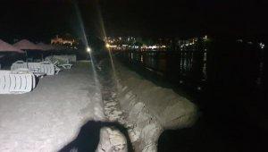 Dünyaca ünlü plajda kaçak kazı