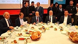 Ekrem İmamoğlu, Saadet Partisi'nin İftar Yemeğine Katıldı