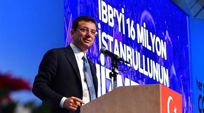 Ekrem İmamoğlu seçim kampanyasını tanıttı
