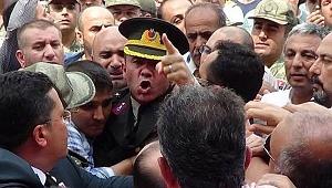 Eski yarbay Mehmet Alkan'ın yargılandığı duruşmada gerginlik