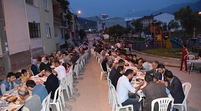 Eşref Dinçer mahallesinde iftar buluşması - Bursa Haberleri