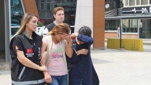 Evlere dadanan suç makinesi kız kardeşler tutuklandı