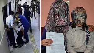 İcra müdürünün kadını dövme anı kamerada... İki tarafta şikayetçi oldu