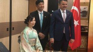Japonya Büyükelçiliği'nden yeni İmparator için resepsiyon