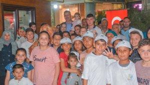 Karacabey'de iftar sofrası yetim çocuklar için kuruldu - Bursa Haberleri