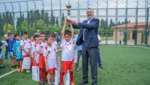 Karacabey'de minikler futbol turnuvası coşkusu - Bursa Haberleri