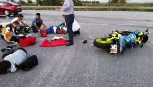 Karacabey'de trafik kazası: 2 yaralı - Bursa Haberleri