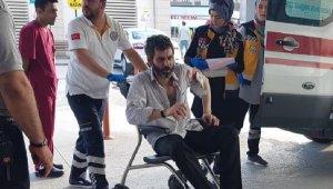 Kasaptan satır alıp, kavga ettiği kişiyi yaraladı - Bursa Haberleri