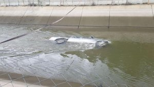 Kastamonu'da pikap, su kanalına uçtu: 1 ölü
