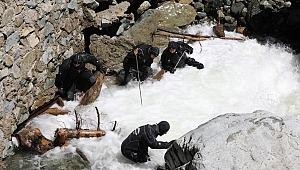 Kayıp gazeteciyi arama çalışmalarında 2 asker suya kapılarak kayboldu