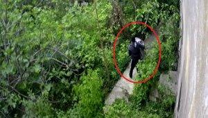Kazan hırsızı kameraya yakalandı