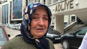 Kızının katiliyle karşılaşınca, gözyaşlarına boğuldu