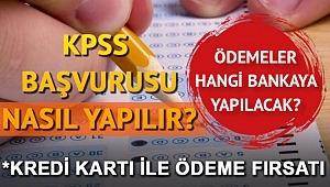 KPSS A Grubu ve öğretmenlik sınavı için başvurular başladı