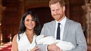 Kraliyetin yeni üyesinin ilk fotoğrafı