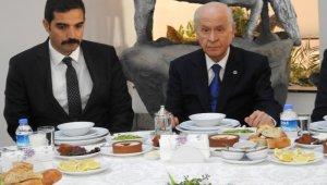 MHP lideri Bahçeli Ülkü Ocaklarının iftarına katıldı