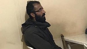 O teröristin yakalandıktan sonra çekilen ilk fotoğrafı