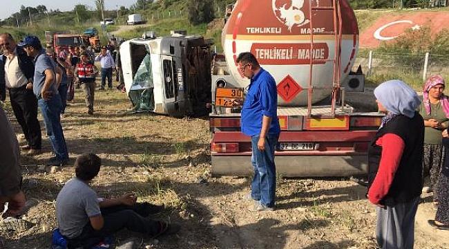 Oğlu kazada ölen babanın tahliye tepkisi