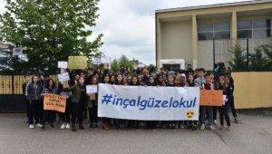 Öğrenciler, okul müdürlerinin değişmemesi için eylem yaptı - Bursa Haberleri