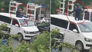 Polis, UBER aracını üstündekiyle beraber otoparka götürdü