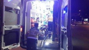 Polisten kaçan şüpheli çocuk üçüncü kattan düştü