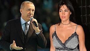 Şarkıcı Tuğba Ekinci, Erdoğan'a övgü yağdırdı