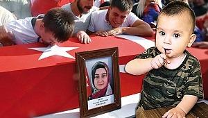 Şehit Bedirhan bebek ve annesinin kanı yerde kalmadı