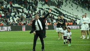Şenol Güneş, Beşiktaş'a 3'lü çekerek veda etti