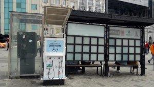 """Taksim'de """"pes"""" dedirten hırsızlık... 4 kez çalındı"""