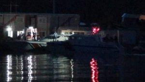Tekne faciasında kayıp olan 3 kişi için çalışma sürüyor
