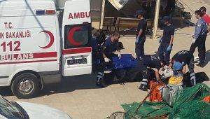 Tekne faciasında ölen 9 göçmenin cenazeleri Adli Tıp'a gönderildi
