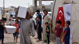 TİKA'dan Irak'ta 5 bin 800 aileye gıda yardımı