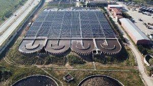 Türkiye'nin elektriğini güneşten sağlayacak ilk arıtma tesisinde sona gelindi