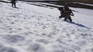 Van'da PKK cephaneliği ele geçirildi