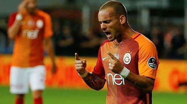 Wesley Sneijder, şampiyonluk maçı için Türk Telekom Stadına geliyor
