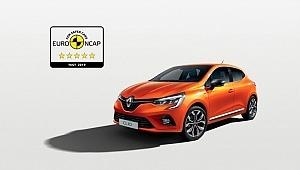 Yeni Renault Clio beş yıldız elde etti