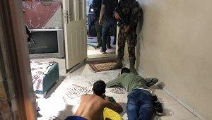 1000 polisle şafak operasyonu çok sayıda gözaltı - Bursa Haberleri