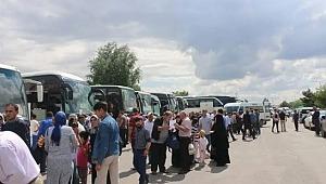 23 Haziran İstanbul seçiminde Binali Yıldırım'a destek için 100 otobüsle İstanbul'a geliyorlar