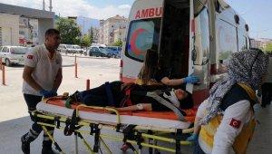 3'üncü kat balkonundan düşen genç kız, ağır yaralandı - Bursa Haberleri