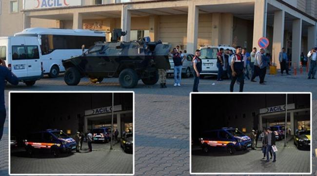 6 kişinin öldüğü, 5 kişinin ise yaralandığı kavga sonrası yaşanan kargaşa kamerada